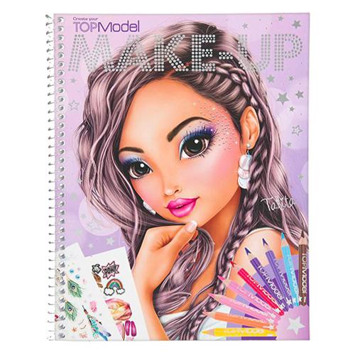 Omalovánky, kreativní sada Top Model ASST Talita, vytvoř Make-up