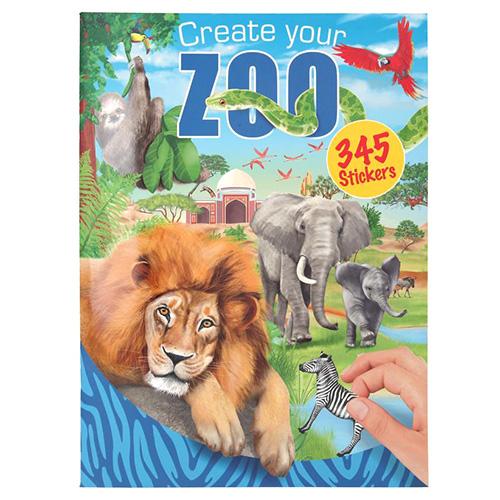 Depesche Kreativní sešit Create Your ZOO, 345 samolepek
