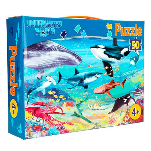 Dino World Puzzle Underwater World Podvodní svět, 50 dílků