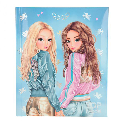 Zápisník Top Model Candy a Hayden, 192 stran, modrý