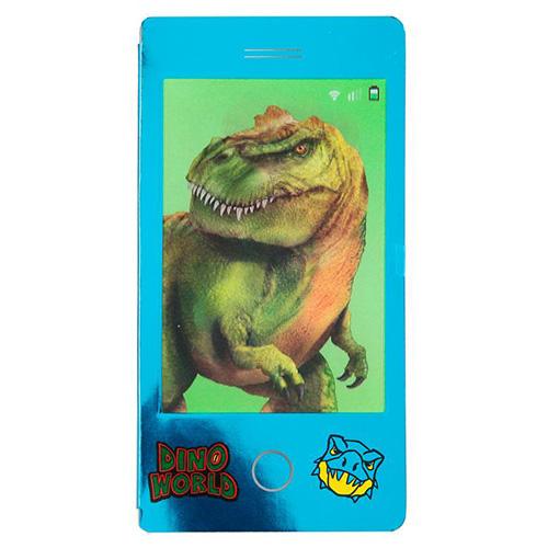 Omalovánka s 3D efektem Dino World Modrý blok, T-Rex