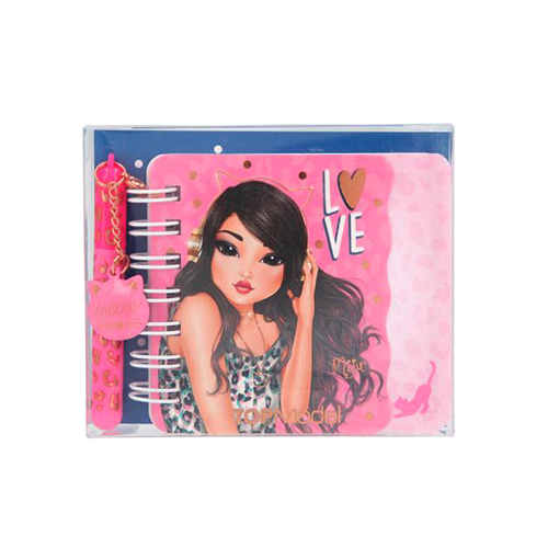 Spirálový bloček Top Model ASST Miju, s mini propiskou