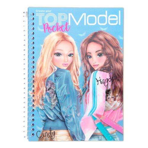 Omalovánky Top Model ASST Candy + Hayden