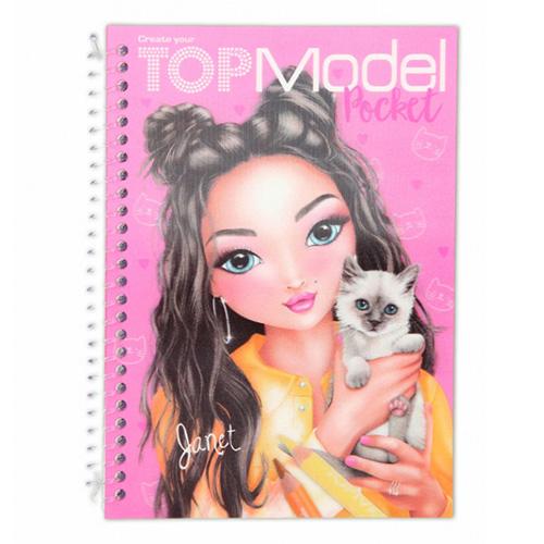 Omalovánky Top Model ASST Janet