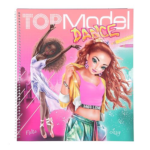 Omalovánka | Top Model DANCE Malia + Lexy