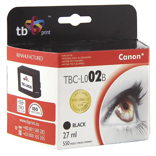 TB print Ink. kazeta TB kompatibilní s Canon BC-02  Black