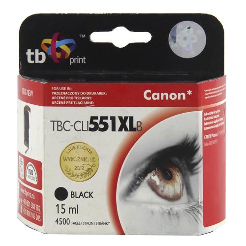 TB print Ink. kazeta TB kompat. s Canon CLI-551XL Black