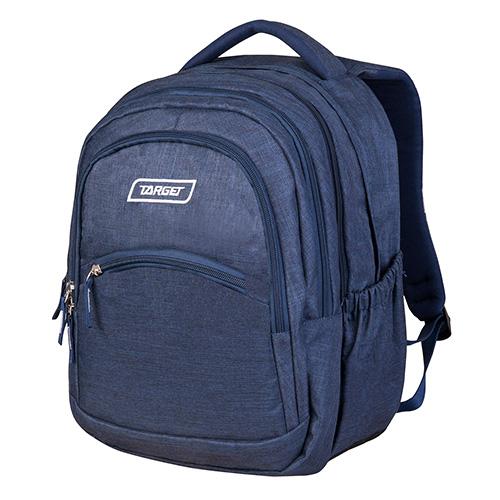 Školní batoh 2v1 Target Džíny, barva tmavě modrá
