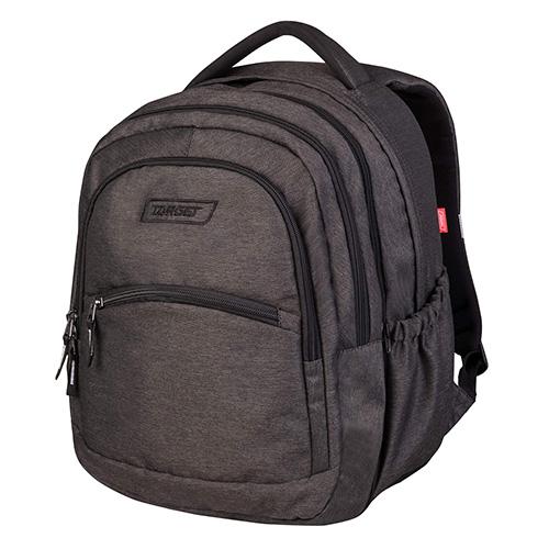 Školní batoh 2v1 Target Barva tmavě šedá
