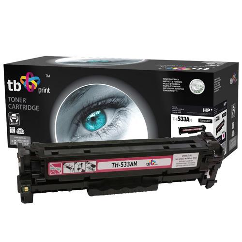TB print Toner TB kompatibilní s HP CC533A,100% new, Ma