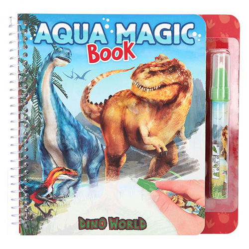 Omalovánka | Dino World Aqua magic Book S fixem na vodu