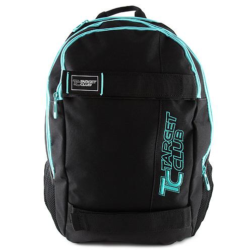 Sportovní batoh Target černý, modrý nápis