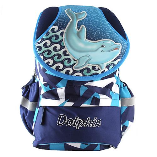 Školní batoh Target Dolphin, barva modrá