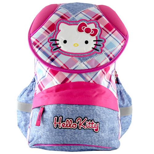Školní batoh Hello Kitty motiv jeans