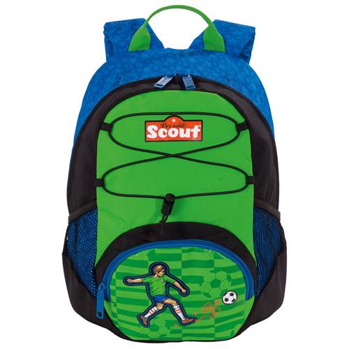 Dětský batoh Scout ergonomický, motiv fotbalista