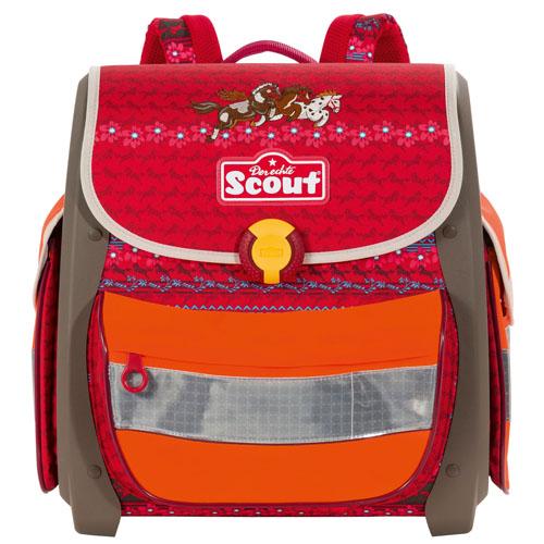 Školní aktovka Scout Buddy, motiv 3 koníci