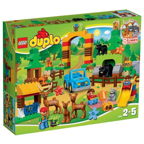 Fotografie Stavebnice LEGO Duplo Lesopark, 105 dílků