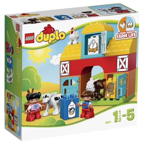 Stavebnice LEGO Duplo Moje první farma, 26 dílků
