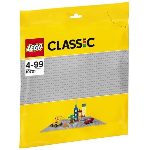 Podložka LEGO Classic 32 x 32 cm, barva šedá