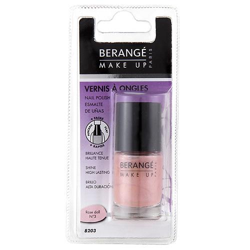 Lak na nehty Berangé Paris Světle růžový, 10ml