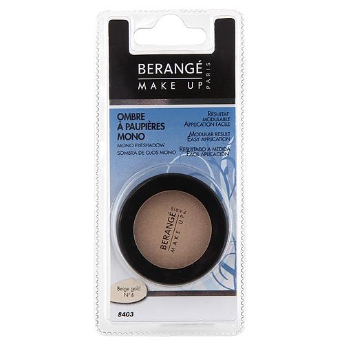 Oční stíny Berangé Paris Beige gold, 2.8 g