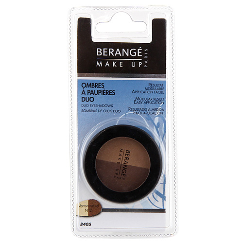 Oční stíny duo Berangé Paris Marron naturel, 2.8 g