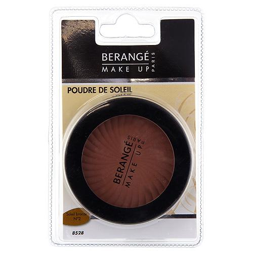 Bronzující pudr Berangé Paris Soleil bronze, 10 g