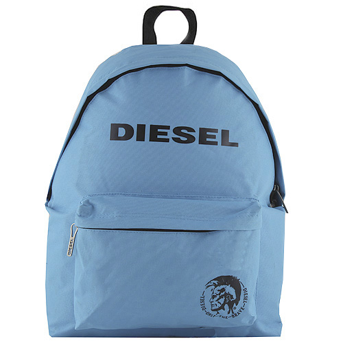Batoh Diesel modrý, s černým nápisem Diesel