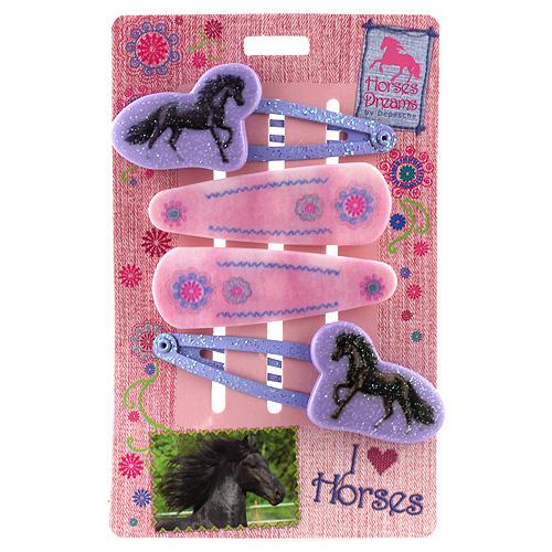 Pukačky Horses Dreams růžové