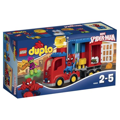 Stavebnice LEGO Duplo Spider-man Spider Track Adventure, 28 dílků