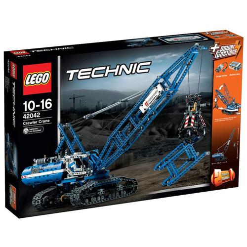 Stavebnice LEGO Technic Pásový jeřáb, 1401 dílků