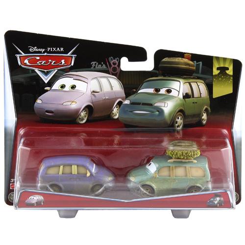 Angličáky Disney Cars Mattel Mini a Van