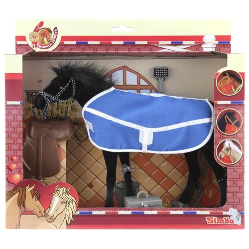 Jezdecký kůň Simba modrý