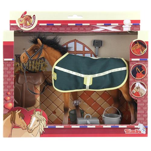 Jezdecký kůň Simba zelený