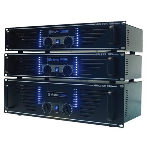 SkyTec PA Amplifier SKY-1500B, 2x 750 Watt  Black