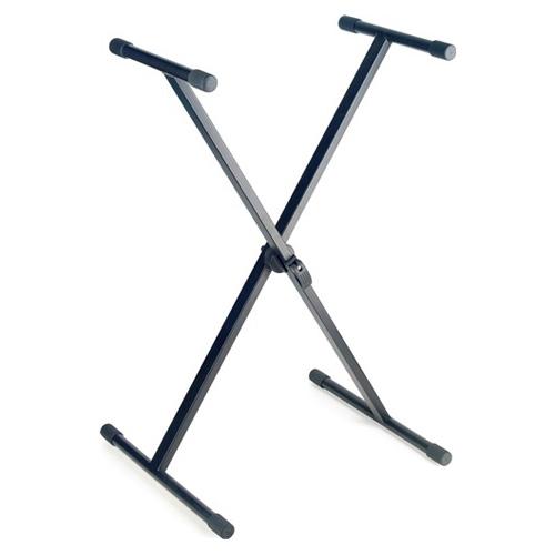 Stojan pro klávesy Stagg Výška 61 - 94 cm - barva černá