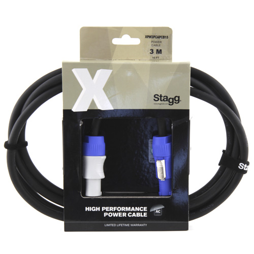Reproduktorový kabel Stagg XPW3PCAPCB15