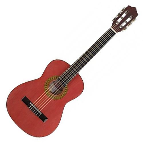 Klasická kytara Stagg Velikost 3/4 - barva červená, lesklá