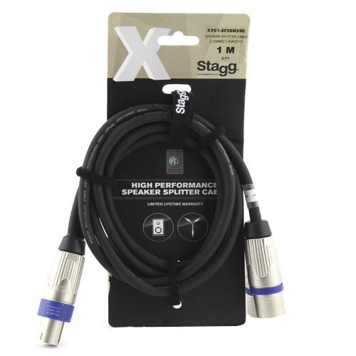 Reproduktorový kabel Stagg XYC1-SM2SF25C