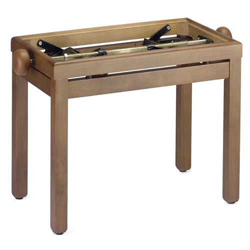 Fotografie Stolička ke klavíru Stagg PB39 WN M, ořech, matná, bez sedáku
