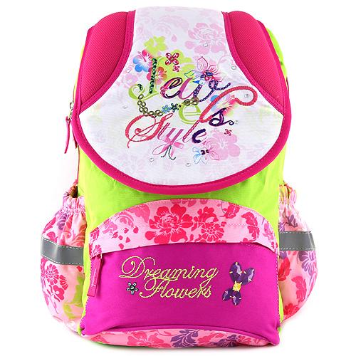 Školní batoh Target Dreaming Flowers, květinový vzor