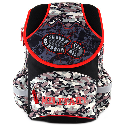 Školní batoh Target Military, vojenský motiv