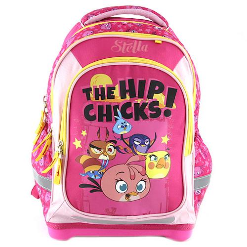 Školní batoh Target The Hip Chicks!/růžový