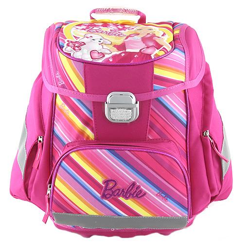 Školní aktovka Target Barbie s pejskem, růžová