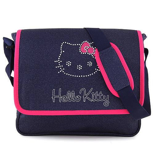 Taška přes rameno Target Hello Kitty/tmavě modrý jeans