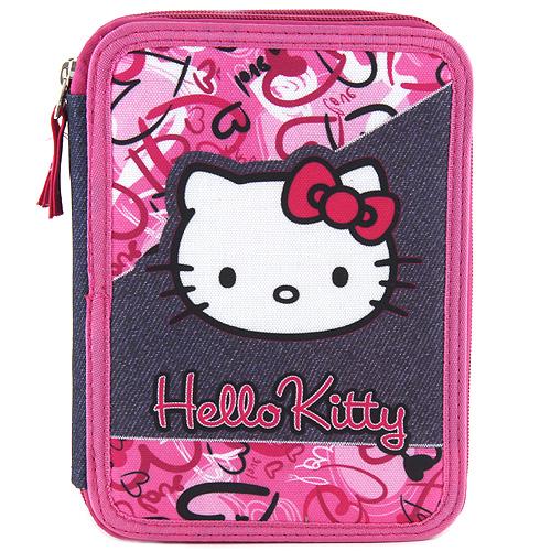 Školní penál s náplní Target Hello Kitty, růžový