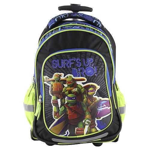 Školní batoh trolley Target Nášivka želváků Ninja
