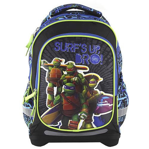 Školní batoh Target Motiv želváků Ninja modrý empty 953689e6e3