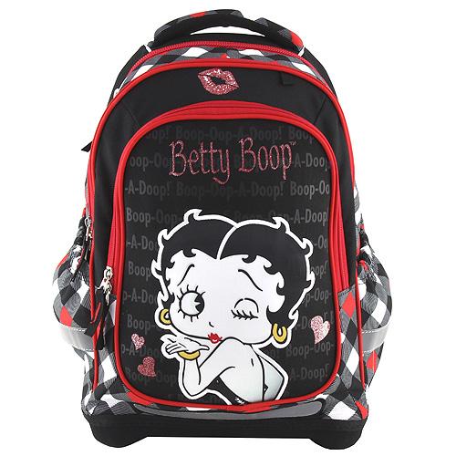 Školní batoh Target Betty Boop, barva černá