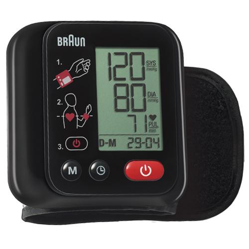 Měřič tlaku Braun Na zápěstí